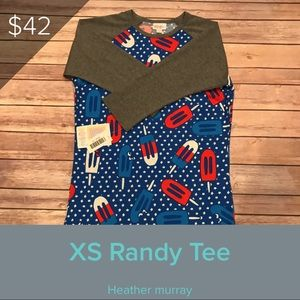 LuLaRoe Randy for 4th or July red white and blue